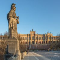 Panorama Maximilianeum ++ Ausflugsziel München ++ Bavarian Parliament, Мюнхен