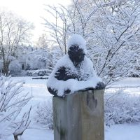 Karl Jaspers in the snow, Ольденбург