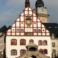 Altes Rathaus - Plauen, Плауен
