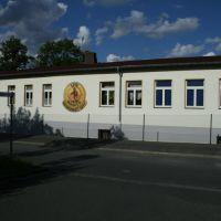 Vereinsheim 1.FC Wacker (Straßenseite), Плауен