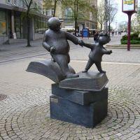 Bahnhofstr., Vater und Sohn, Плауен