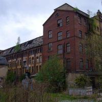 Industriebrache (Färberei Gebr. Höpfner), Плауен