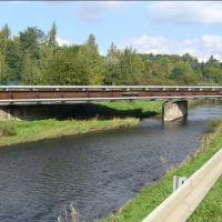 Elsterbrücke an der Holbeinstraße, Плауен