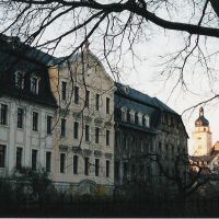 Weißbach´sche Fabrik mit Skt. Johannes Kirche, Плауен