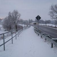 Straße nach Hohen Demzin, Тетеров