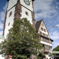 Freiburg   -  Schwabenturm, Фрайбург