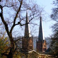 Freiburg Towers of St. Johannes Church ¦ pilago, Фрайбург