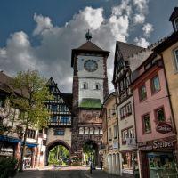 Freiburg, Schwabentor ¦ pilago, Фрайбург