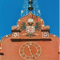 des horloges, Rathaus Freiburg im Breisgau, Фрайбург