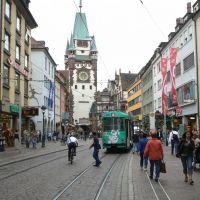 Freiburg im Breisgau - The Martinstor, Фрайбург