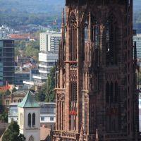 Münster zu Freiburg, ohne Baugerüste ;-), Фрайбург