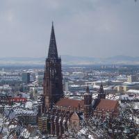 Schon mehrere Male erlebt, dass die Erde in Freiburg bebt!, Фрайбург