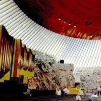 Helsinki A. Aalto Rock Church 1969, Хельсинки