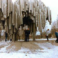(messi89) Me at Jean Sibelius Monument, Sibeliuksenpuisto [300°], Хельсинки