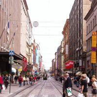 353 Strasse im Zentrum Helsinkis, Хельсинки