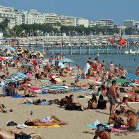 Cannes. Plage de la Croisette, Канны