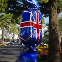 Bonbon Drapeau de Laurence Jenkell, Royaume-Uni, Cannes, Канны