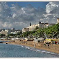 La Croisette à Cannes (voir la description)., Канны