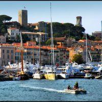 Cannes Le Vieux Port..© by leo1383, Канны