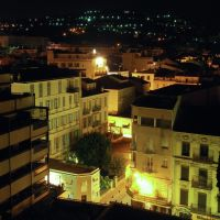 Cannes - nightlife from a balconies view, Канны