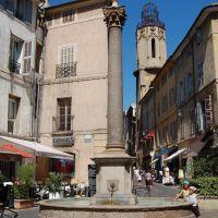 Aix-en-Provence, Place des Augustins, А-ен-Провенс