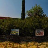 FRA Aix-en-Provence Les Lauves - Terrain des Peintres (Montagne Sainte-Victoire) Panorama by KWOT {upload 19/1/2012 on Paul Cezannes 173rd birthday}, А-ен-Провенс
