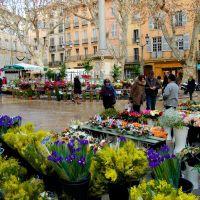 Le Marché aux Fleurs d'Aix-en-Provence, А-ен-Провенс