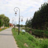 le canal de Berry à Drevant, Виллежюи