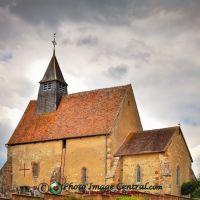 Eglise St-Aignan. Faverdines., Виллежюи