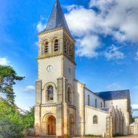Eglise de Saulzais-le-Potiers, Виллежюи