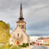 Église, Loye-sur-Arnon, Виллежюи
