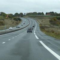 Autoroute A71 non loin de Saint-Amand-Montrond, Виллежюи
