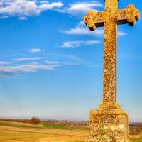 Croix à louest de La Celette, Винсенне
