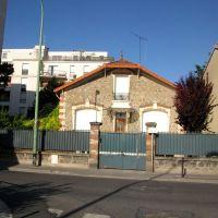 un pavillon de Vitry sur Seine, Витри