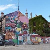 Street art,Vitry/Seine., Витри