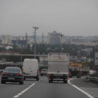 Créteil vue depuis lautoroute A86 à Choisy le Roi le 21/10/13., Витри
