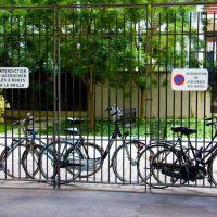 Paris. Vélos., Иври