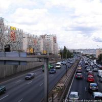L'autoroute de Porte d'Ivry 环城高速, Иври