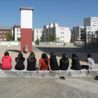 Sur la terrasse des Olympiades, Иври