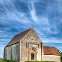 Eglise Saint-Paul. Saint-Georges-de-Poisieux, Cher., Кретейл
