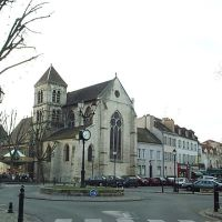 Saint-Maur, léglise Saint Nicolas, Сен-Мар-дес-Фоссе