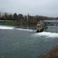 Joinville le Pont - Barrage sur la Marne, Сен-Мар-дес-Фоссе