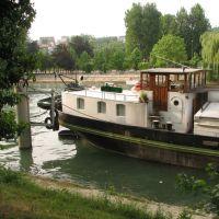 Borde de Rio La Marne, Nogent-sur-Marne, Fr., Фонтеней-су-Буа