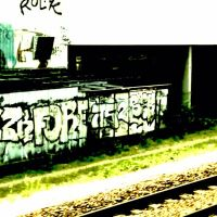 Street Art and Train, Фонтеней-су-Буа