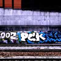 Street train art, Фонтеней-су-Буа