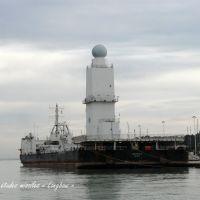 """La Seyne - Barge """"Long Bow"""", Ла-Сен-сюр-Мер"""