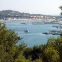 La Seyne-sur-Mer, vue sur Port Pin Rolland depuis la Villa Tamaris, Ла-Сен-сюр-Мер