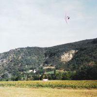 Course aux pylones à Aubenasson -Drome, Валенс