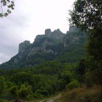 Les Trois Becs (looking south), Валенс