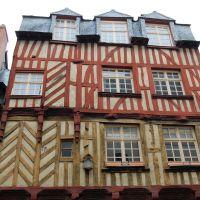 Rennes - case a graticci, Ренн